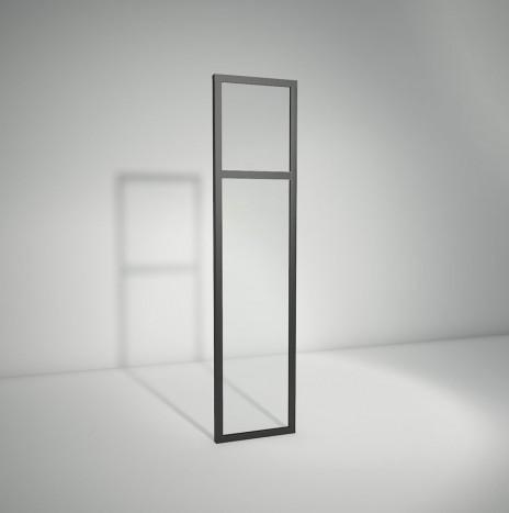 Verrière standard à vitrage fixe avec imposte – 1 panneau (H 150 cm x L 36 cm)