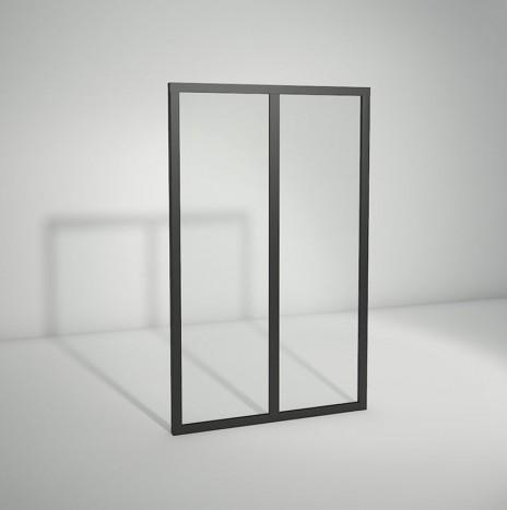 Verrière standard à vitrage fixe – 2 panneaux (H 115 cm x L 71 cm)